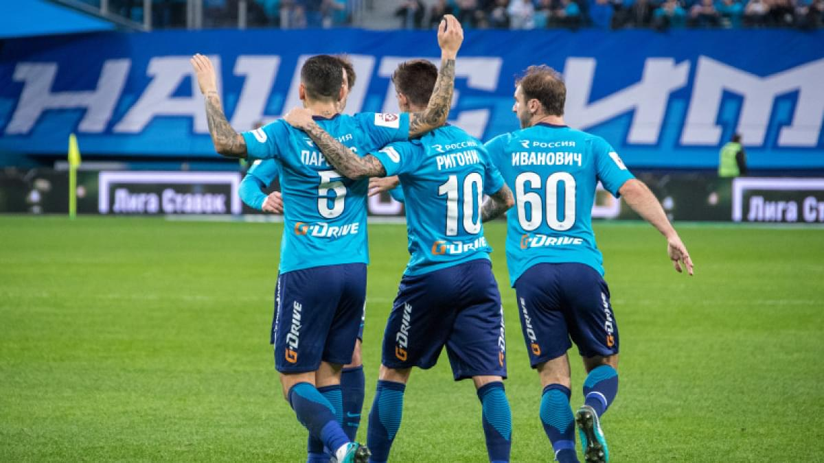 Прогноз на матч Зенит Санкт-Петербург - Урал 02 декабря 2017