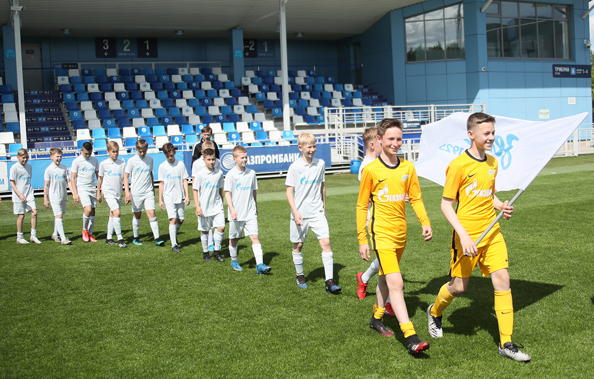 В «Газпром»-Академии прошла торжественная церемония открытия VI Кубка дружбы