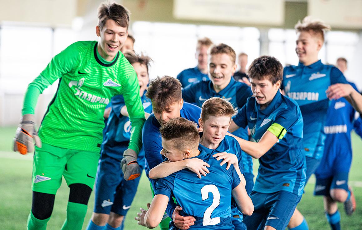 Первенство России U-14: «Зенит» обыграл «Аланию» в стартовом матче