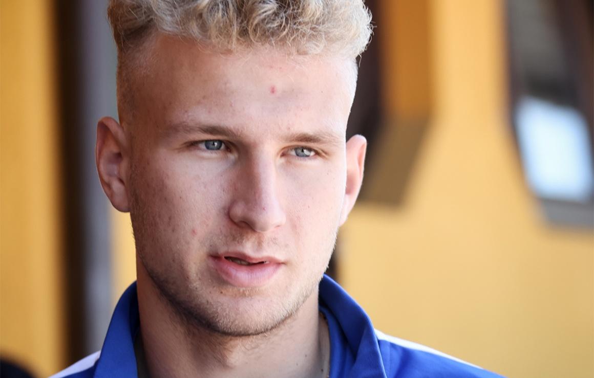 Даниил Шамкин проведет сезон в «Балтике»
